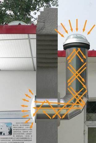 solar tube bend Daylight