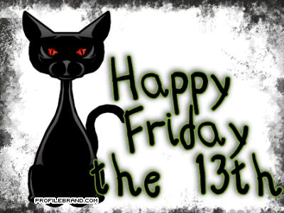 They say bad luck comes in threes – so if you are superstitious, watch out for black cats and footpath cracks because tomorrow is the third Friday the 13th of 2012. Description from eliechahine.wordpress.com. I searched for this on bing.com/images