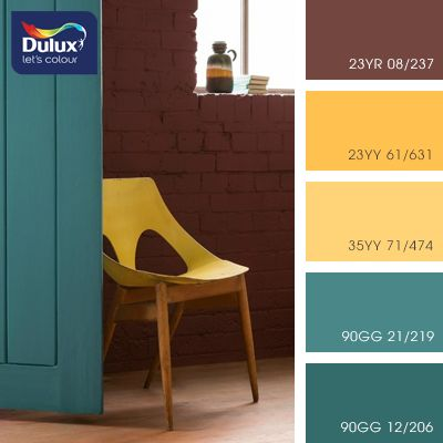 cvetovaya-palitra-Dulux-59 These are the colors I want with a couple of grays.