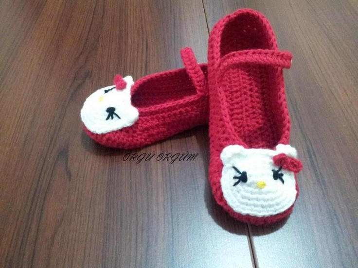 grey Hello Kitty Babet Patik Modeli