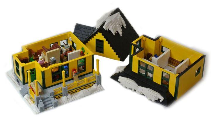 'A Christmas Story' LEGO House - Simplemost