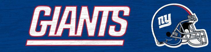 NFL NYG New York Giants Team Sign 16