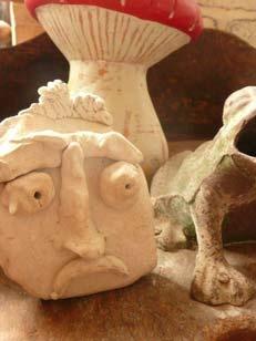 Modeler des personnages imaginaires les cours de poterie