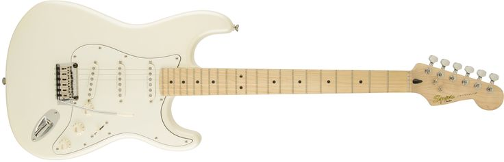 Deluxe Stratocaster®, Maple Fingerboard, Pearl White Metallic | Squier Electric Guitars