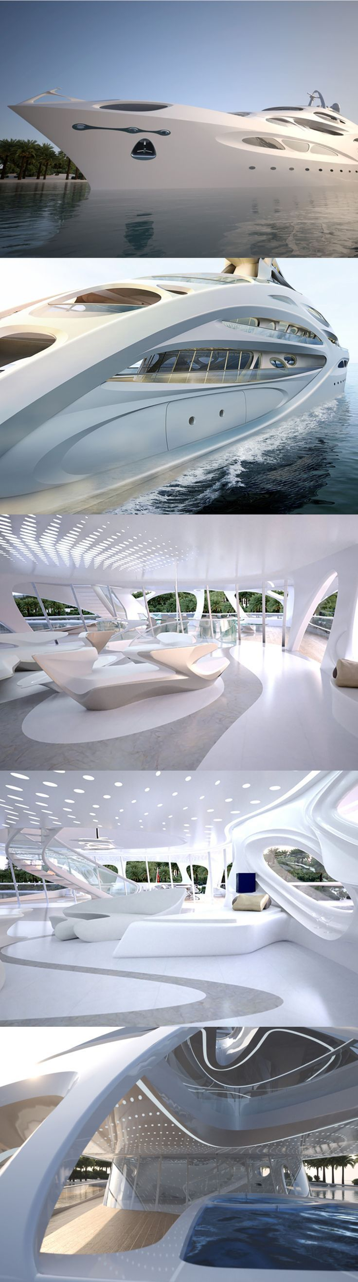 Zaha Hadid's Super Yacht. Damn! - Explore the World with Travel Nerd Nici, one Country at a Time. travelnerdnici.com