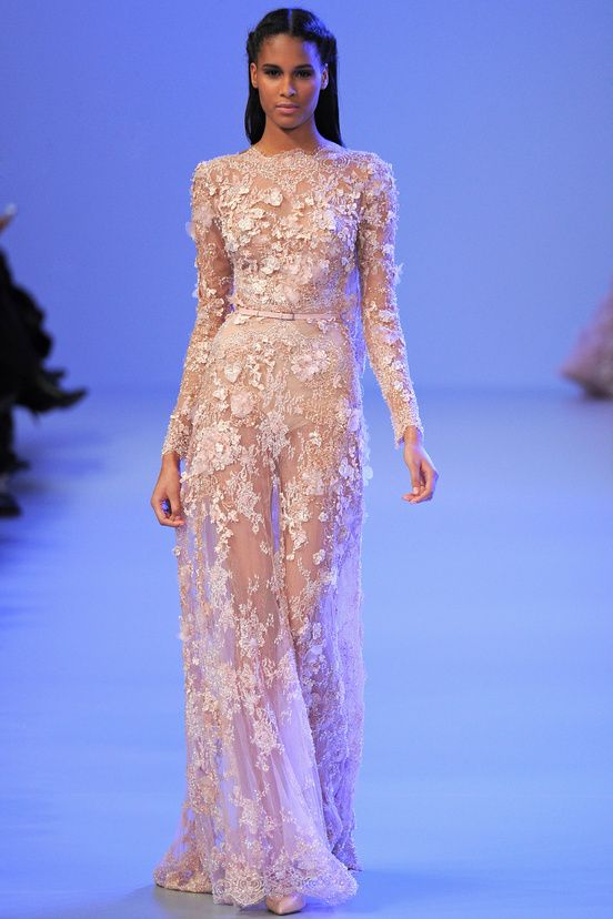 Elie Saab - Paris Haute Couture Fashion Week Spring 2014 - Fashion Diva Design