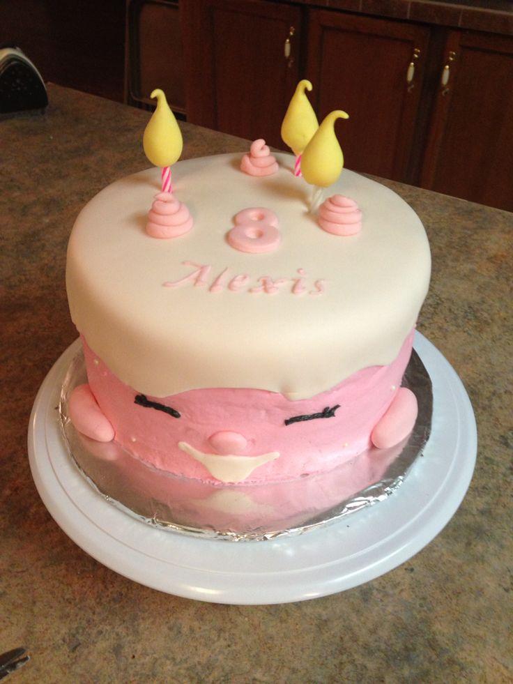 Buttercream Shopkin Birthday Cake