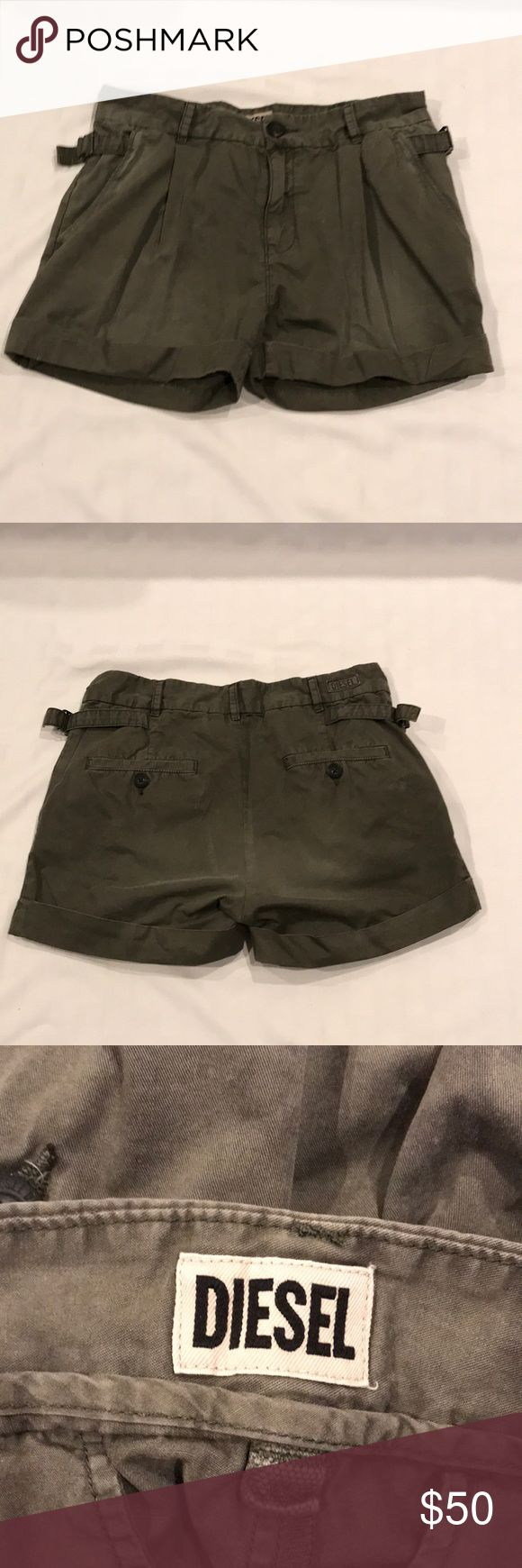 Diesel shorts BNWOT Diesel cargo shorts. Get a jump start on your summer wardrobe with these stylish shorts. Free gift with purchase Diesel Shorts Cargos
