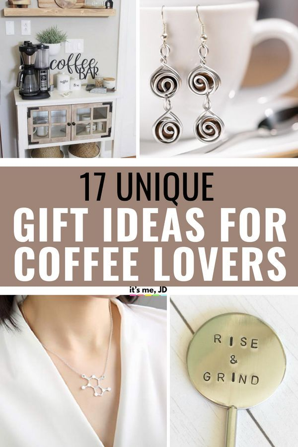 17 Unique Gift Ideas For Coffee Lovers