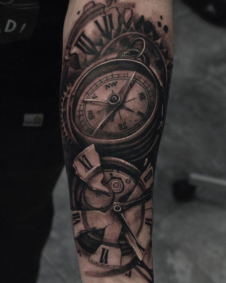Realistic Tattoo by Julen Mrkpa