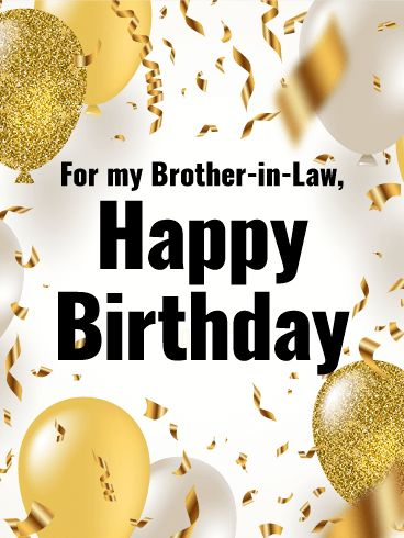 9 best birthday cads for brother in law images on pinterest happy classy balloons happy birthday card for brother in law this sophisticated happy birthday bookmarktalkfo Gallery