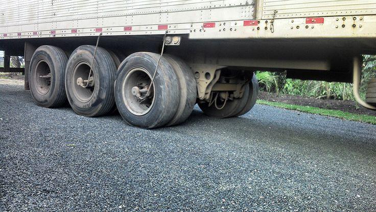 Los pavimentos permeables soportan el peso del tráfico