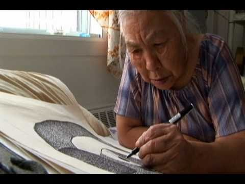 Nice small documentary on Inuit Art.  Inuit art centre. Thanks to CanMusCiv.