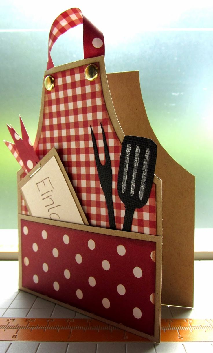 Fab cooking inspired card design for #FathersDay! Adapt it for Mothers Day and Birthdays too.