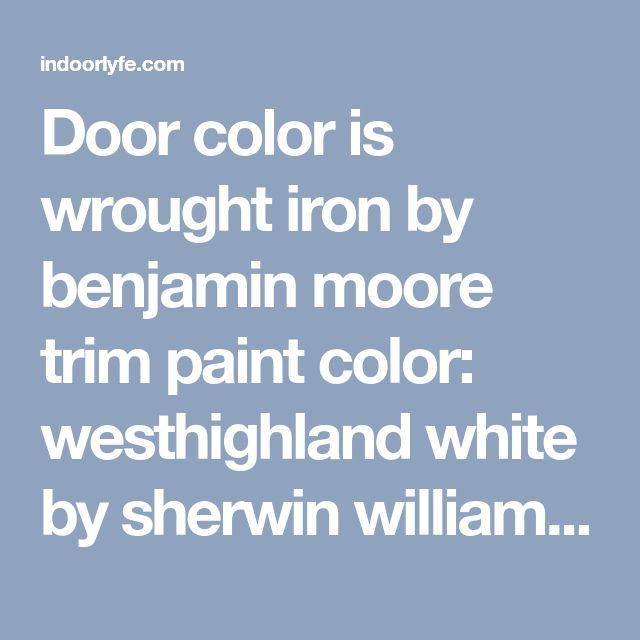 Best Sheen Of Paint For Kitchen Cabinets: Best 25+ Benjamin Moore Wrought Iron Ideas On Pinterest