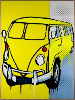 Jasper KNIGHT Original Contemporary Painting Volkswagen    ----BTW, Please Visit:  http://artcaffeine.imobileappsys.com