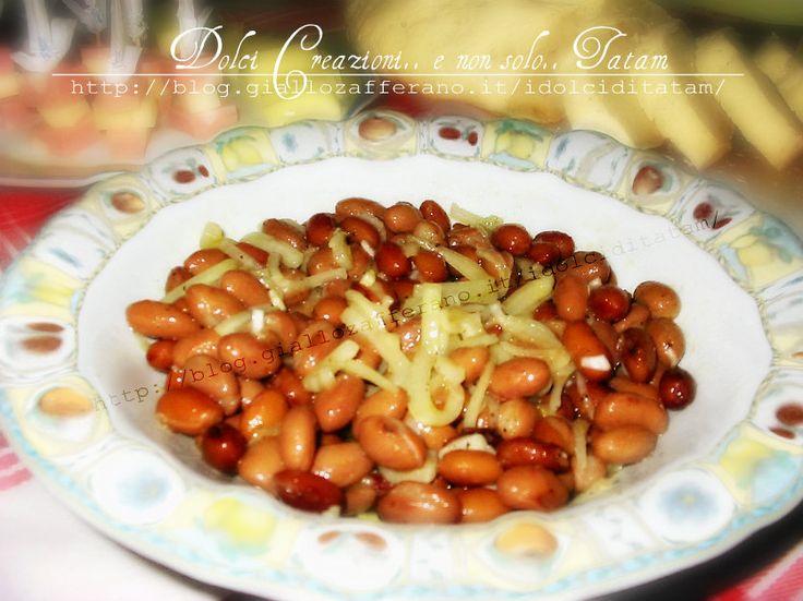 Insalata di fagioli e cipolla