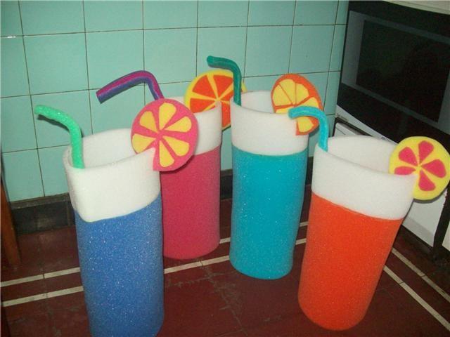 Gorros de goma espuma para 15 años - Imagui