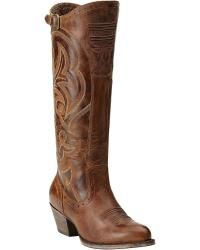 Ariat Wanderlust Tall Cowgirl Boots - Round Toe - Sheplers $185