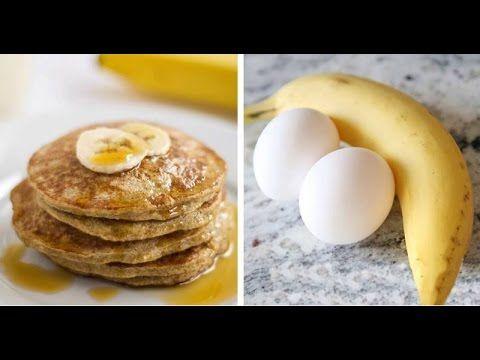 Veja o que essa panqueca de dois ingredientes toda manhã fará com a gordura do seu corpo. - YouTube