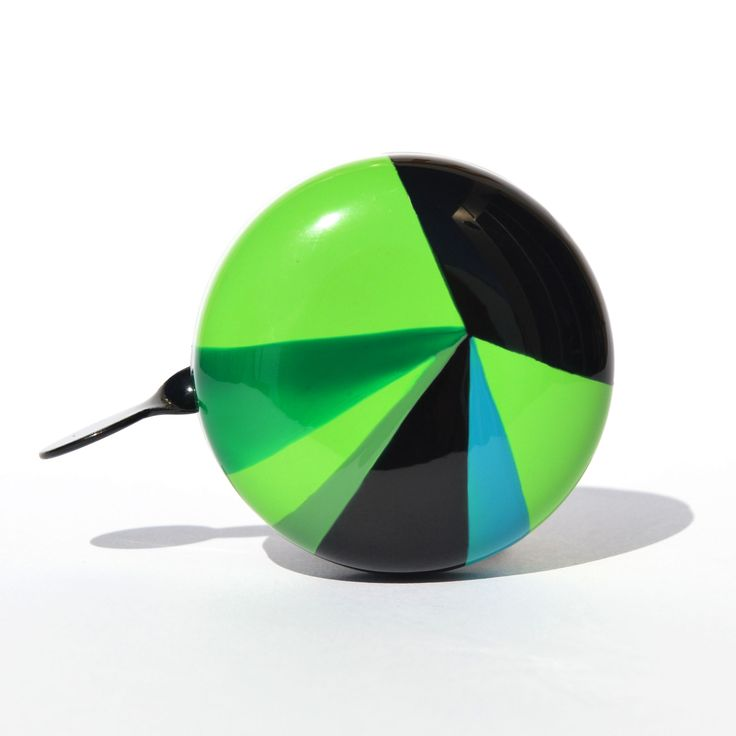 Prism handpainted bicycle bell
