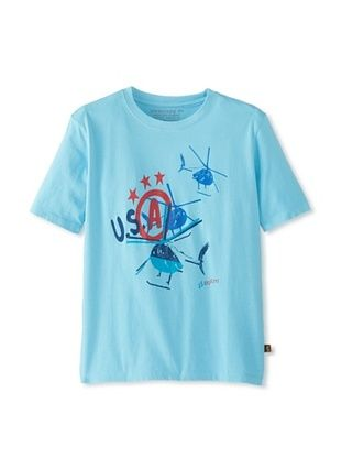82% OFF Alpha Industries Boy's Helicopter Tee (Mist)