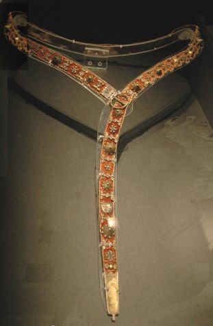 Belt from 14th century located now in Musee National du Moyen Age, Clunny,