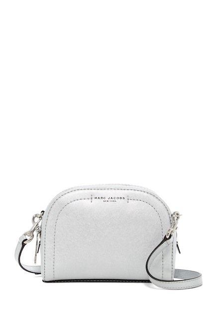 9250b5c0c2 Marc Jacobs Playback Metallic Leather Crossbody Bag / @nordstromrack  #rackpack #ad