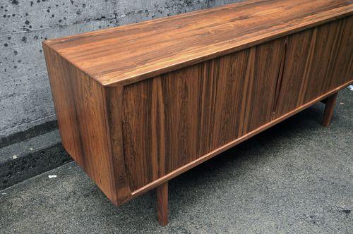 Rosewood Sideboard by Bruno Hansen