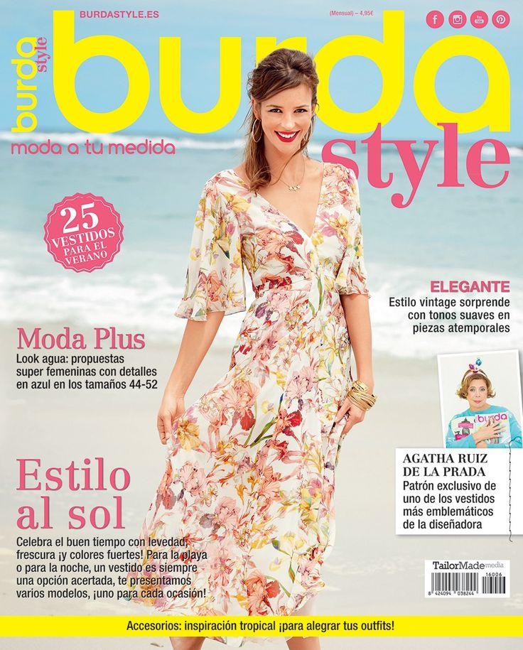 06.2016 | Burda style es | Pinterest | Revistas, Costura y ...