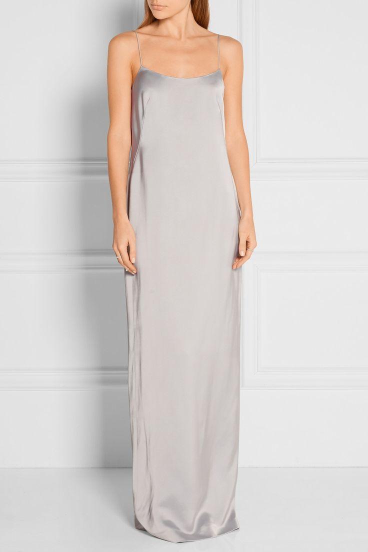 Calvin Klein Collection | Satin gown | NET-A-PORTER.COM