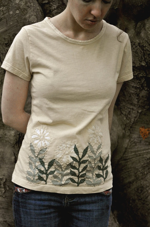 Beautiful reverse applique t shirt there is no way i for Applique shirts for sale