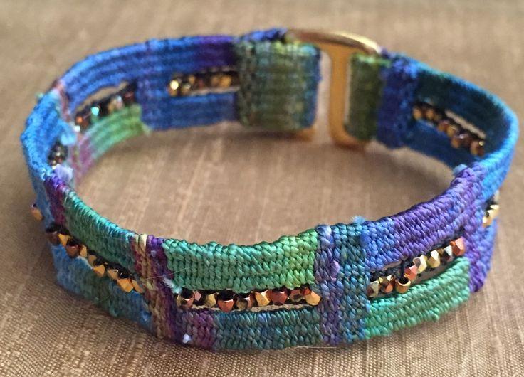The Blue Hibiscus Bracelet Kit   Mirrix Looms