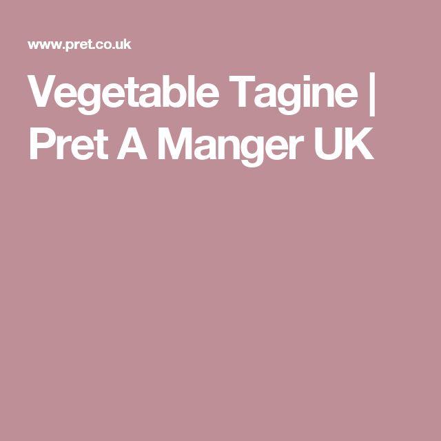 Vegetable Tagine | Pret A Manger UK