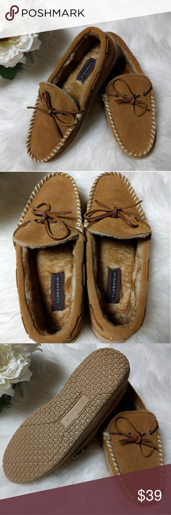 Florsheim Leather Slippers Brand New!! Florsheim men's leather slippers. Size 9. A perfect gift for the holidays! Soft and comfortable. Florsheim Shoes Loafers & Slip-Ons