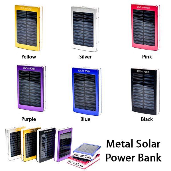 Metal Solar Power Bank RP 285.000