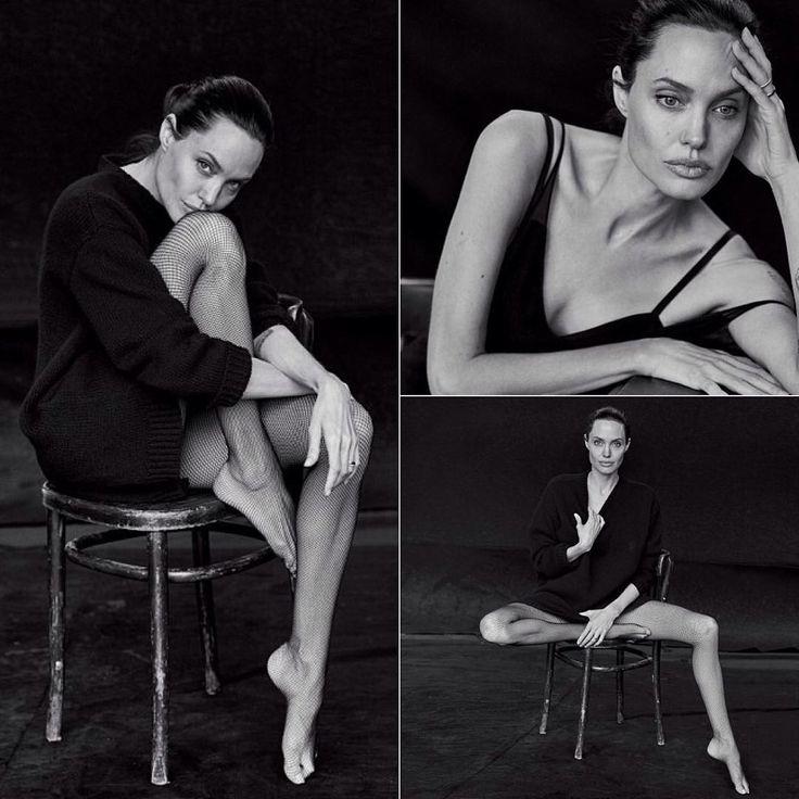 Невероятная Анджелина Джоли в объективе Питера Линдберга. /// Angelina Jolie by Peter Lindbergh. #angelinajolie #peterlindbergh