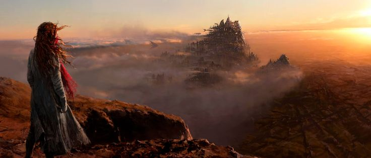 Peter Jackson teases Mortal Engines art