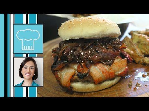 Coisas que Gosto: COMO FAZER : Hamburger Explosão de Bacon