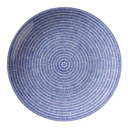 IITTALA ARABIA OF FINLAND 24h Avec Plate 26cm, Blue, Design Heikki Orvola, NEW