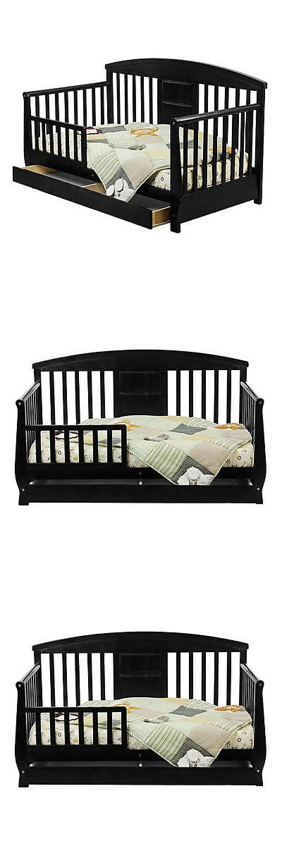 Kids Furniture: Dream On Me Deluxe Toddler Day Bed - Black -> BUY IT NOW ONLY: $144.99 on eBay!