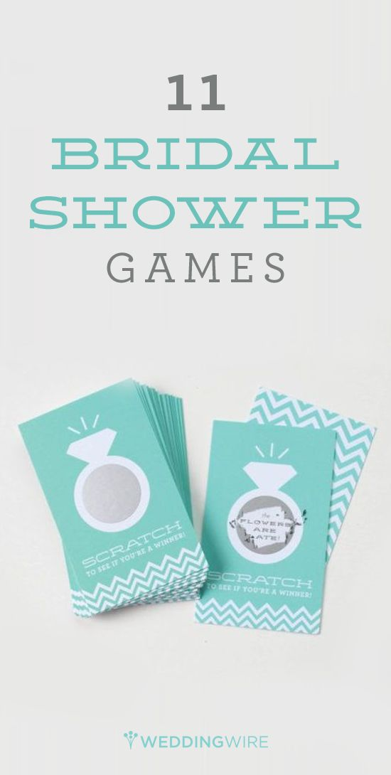 11 great games to play at a bridal shower from @weddingwire