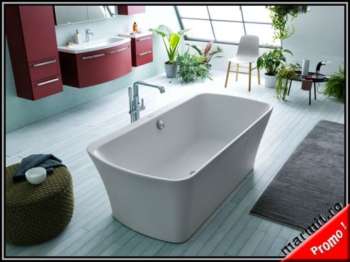 Cada baie dreptunghiulara Mary 180 cm   Marmit - Obiecte sanitare