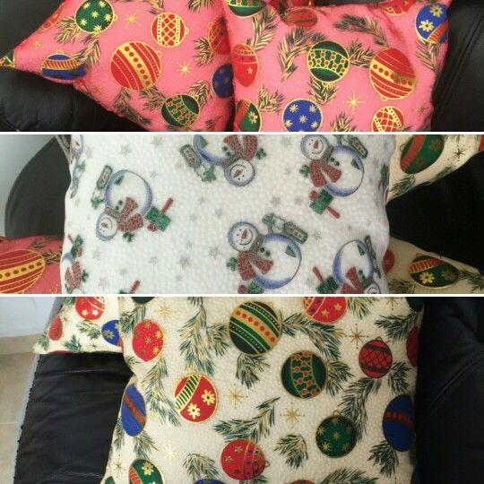 Lindos cojines navideños Adquiere los yaaa !!!