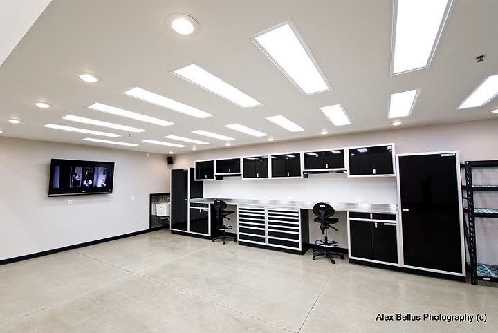 25 best ideas about garage lighting on pinterest garage for Custom garage workshop