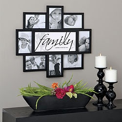 cute family collage frame