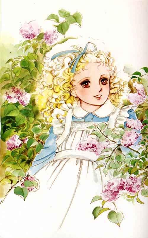Artwork by manga artist Moto Hagio.
