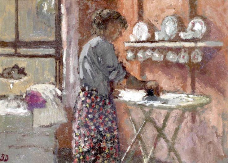 bofransson:    Bernard Dunstan, R.A. (British, born 1920) The Kitchen