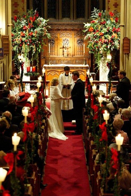Christmas wedding- Church