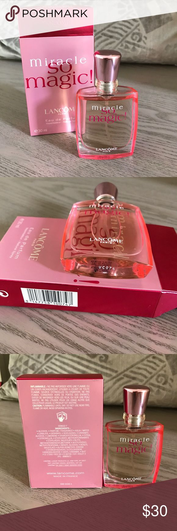 LANCÔME Miracle perfume Brand new. It is authentic. 30ml. Lancome Accessories